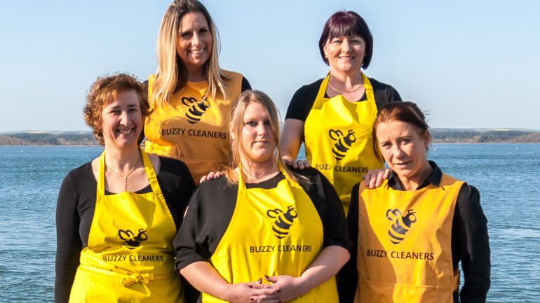 Meet the team at Buzzy Cleaners