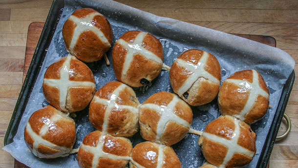 The Perfect Hot Cross Buns