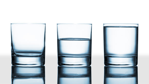 Glass Half Full or Glass Half Empty?