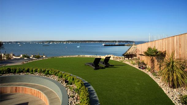 Harbourourside Elegance; A Stunning Garden to Match the Stunning Views