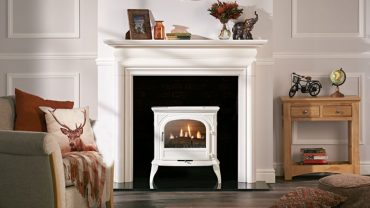 No Chimney – No problem with this clean burning Gas stove…