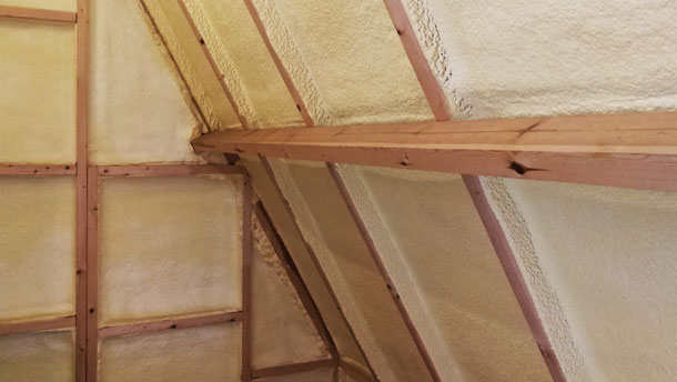 5 Reasons to Install Spray Foam Roof Insulation