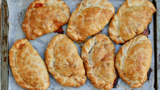 Heather Brown's Breakfast Pasties for Dad