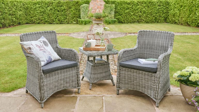 A perfect choice of garden furniture to suit every garden