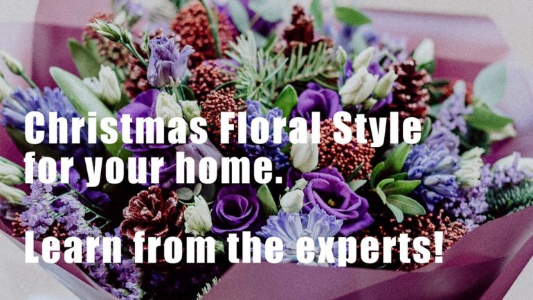 Festive Floral Styling