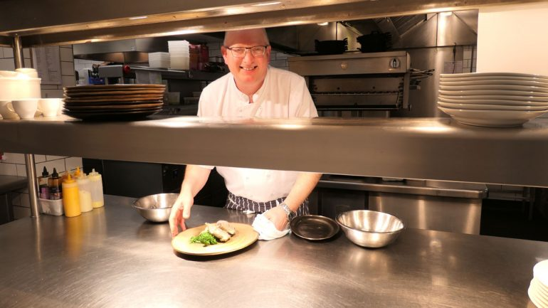 Meet David Whiffen; head Chef at the elegant Neo Restaurant